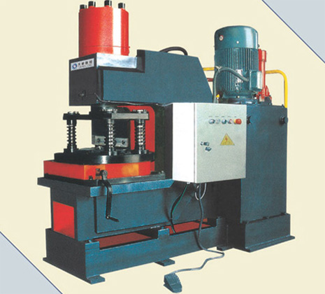 Mechanical Notching Machine for Angles